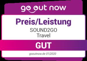 SOUND2GO Travel Preis Leistung Gut